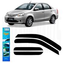Calha De Chuva Toyota Etios Sedan Todos C-juros