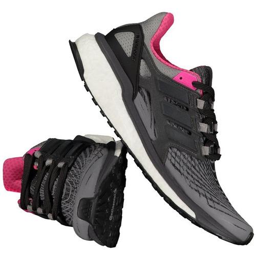 8eb296080b Tênis adidas Energy Boost Feminino Rosa - R  499
