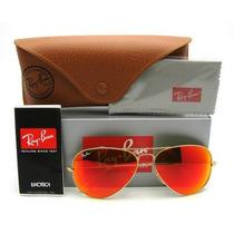 Gafas Ray-ban Rb3025 Aviator Sunglasses 112/69 Gold (naranj