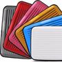 Lote C/20 Unidades Porta Cartão Credito Ou Visita Aluminio