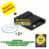 Drive Emulador Usb P/ Teclado Technics Kn5000 + 60.000 Midis