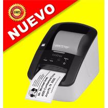 Impresora Termica Etiquetadora Codigo Barras Brother Ql-700