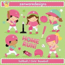 Kit Imprimible Beisbol 4 Imagenes Clipart