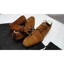 Zapatos Magnanni Seminuevos C/ Cinturon Herms Os 1 Puesta