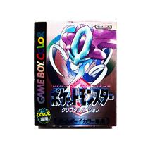 Pocket Monsters Crystal Japones - Nintendo Gbc & Gba Pokemon