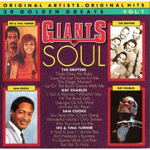 Cd / Drifters, Sam Cooke, Ray Charles, Ike & Tina = Giants