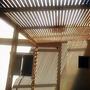 Pergola De Madera Instalada En Caba Y/o Gba