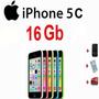 Iphone 5c 16gb 4g Lte 8 Mp Siri Apple Libre Nuevo Colores..!