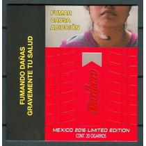 Cubre Roja Marlboro Con Realce Mexico 2016 Edicion Limitada