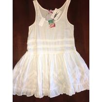 Vestido Blanco Sybilla Bordado Importado Broderie Hippie