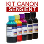 Kit Tintas Canon Pgi Cli - Ip4810, Ix6510, Mg5210, Mg6110