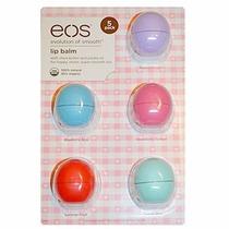 Eos Lip Balm Protetor Labial Kit Com 5