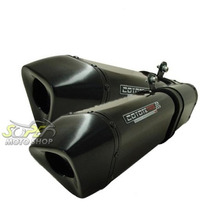 Escape Ponteira Coyote Trs Par Xt 660 R Preto Black Yamaha
