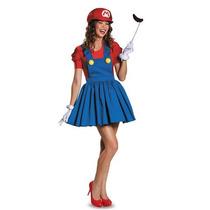 Sexy Disfraz Mario Bros Y Luigi Halloween Lenceria Y Envio