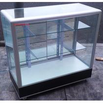 Vitrina Exhibidora Mostrador Cristal Aparador 1 M