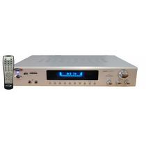 Consola Amplificador Usb-sd-fm-mic-c.remoto 600w Potenciada