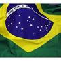 Bandeira Brasil Oficial Grande 2 Metros / Kit Cordinha