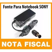 Fonte P/ Notebook Sony Pcg-7112l Pcg-7112m Pcg-7113l