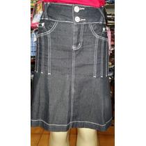 Saia Jeans Moda Evangélica Via Tolentino 40 - Ultima Peça