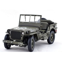 Auto Jeep Willys Esc 1:18 Welly