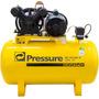 Compressor De Ar Monofásico 10 Pés 100 Litros 110/220v Pre