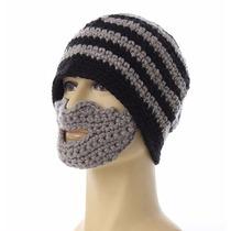 Gorro De Crochet Con Barba, Ropa