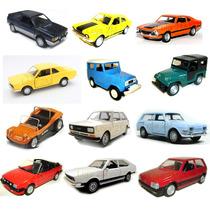 Coleção Rara 12 Miniaturas Classicos Nacionais Do Extra