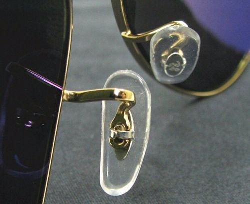 Plaqueta De Garra Para Óculos   Macia   Par - R  17,50 em Mercado Livre 84537d0315