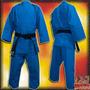 Uniformes De Judo Azules Shiai Judoguis Judogi Talles 5 A 7
