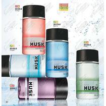 Musk Colônia Desodorante 150ml -avon