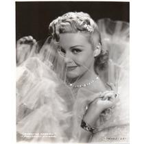 Fotografía Original Madeleine Carroll In Paramount Pictures