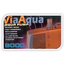 Bomba Submersa Via Aqua Va-8000 Vazão Máxima 8500 L/h 220v