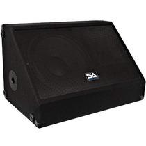 Audio Sísmica - De 15 Pulgadas, 350 Vatios Monitor De Suelo