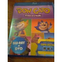 Don Gato El Inicio De La Pandilla Bluray + Dvd