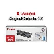 Toner Canon Original 104 Cartridge Negro