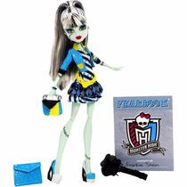 Boneca Frankie Stein Foto Do Terror Monster High Mattel
