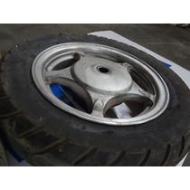 Roda Traseira (liga Leve) Original - Suzuki An 125 Burgman