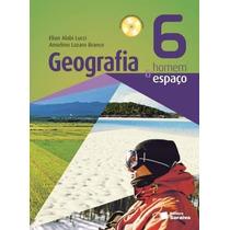 Livro Geografia Homem E Espaco 6 Ano - 2014- Volume Novo
