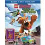 Lego Scooby Doo Hollywood Embrujado Pelicula Bd + Dvd+figura