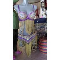 Vestuario Bellydance Danza Arabe Nuevo Original Egipcio