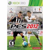 Frete Grátis Jogo Xbox 360 Pes 2012 Original Novo Lacrado