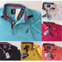 Kit 4 Camisas Polo Vários Modelos Cores Masculina Original