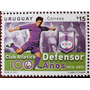 Osl Sello Uruguay Club Defensor 100 Años Fútbol Farola