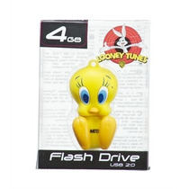 Pen Drive Mini Flash Drive Emtec Lt Tweety 4gb