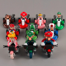 Coleccion Carritos Mario Kart Mario Bros Carros Regalo Motos