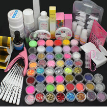Kit Inicial Deco Set 27 Piezas Uñas Esculpidas, Uv Gel