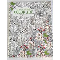 Libro Economico Para Colorear - Natural Wonder Color Art