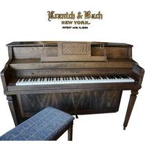 Fino Piano Marca Kranich & Bach, Console Garantizado $25,000