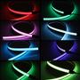 Cinta Electroluminiscente Luz Neon Para Casco Moto Bicicleta