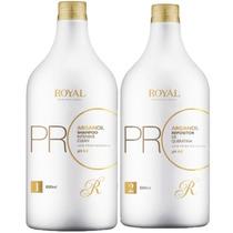 Kit Progressiva Royal Promax 2x1litro + Brinde Óleo De Argan